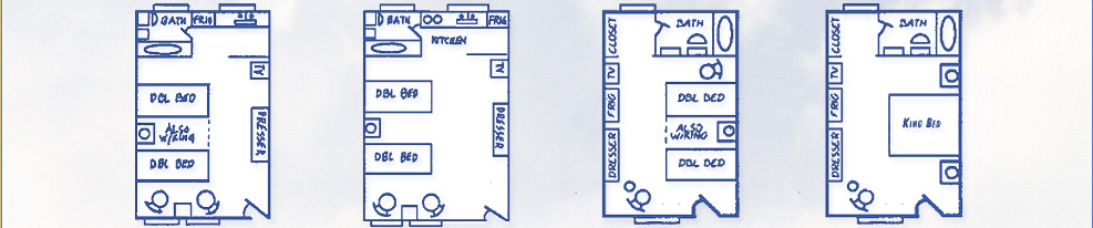 Motel Rooms Cape May Floor Plans